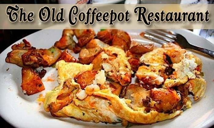 The Old Coffee Pot Restaurant - French Quarter: $10 for $20 Worth of Classic Creole and Cajun Cuisine at The Old Coffee Pot Restaurant