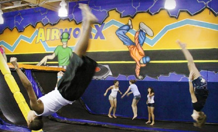 Two 1-Hour Jump Passes (up to a $20 value) - Airworx in Chandler