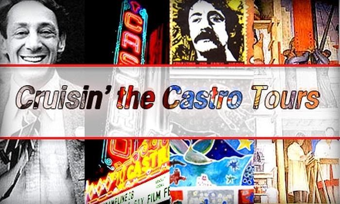 Cruisin' the Castro Tours - Buena Vista Park and Dolores Park: $18 Historical Walking Tour or Harvey Milk Tour With Cruisin' the Castro Tours (Up to $45 Value)