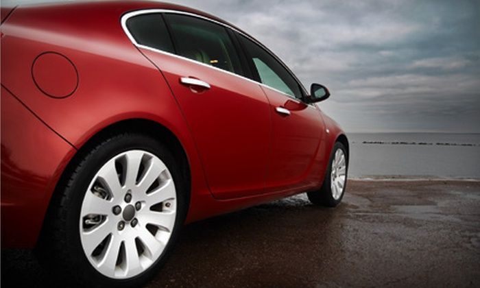 Mr. Tint - Loma Linda: $60 for Automotive Tinting for Two Windows at Mr. Tint ($125 Value)