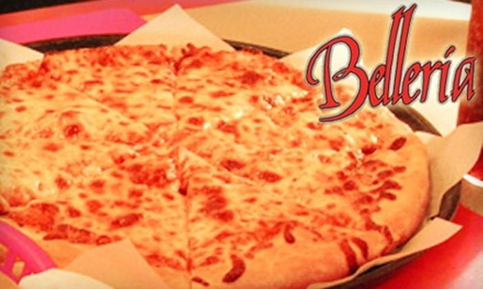 Belleria Pizza - Austintown: $10 for $20 Worth of Fare and Drinks at Belleria Pizzeria
