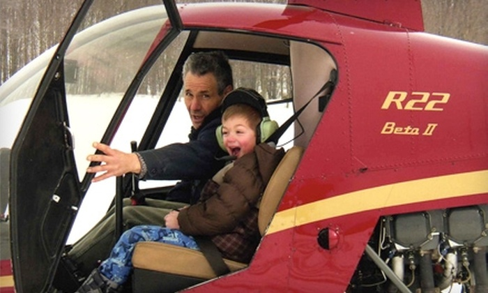 Veterans Helicopter Solutions - Johnson City: $75 for a Discovery Flight Helicopter Lesson from Veterans Helicopter Solutions in Johnson City