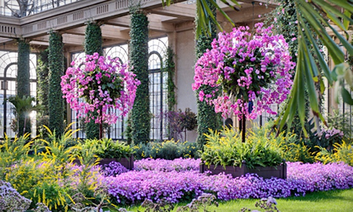 Longwood Gardens - East Marlborough: $9 for Outing to Longwood Gardens in Kennett Square (Up to $18 Value)