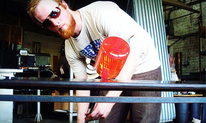 Asheville Glass Center - Asheville: Intro to Flameworking or Intro to Glass-Blowing Class for One or Two at Asheville Glass Center (Up to 55% Off)