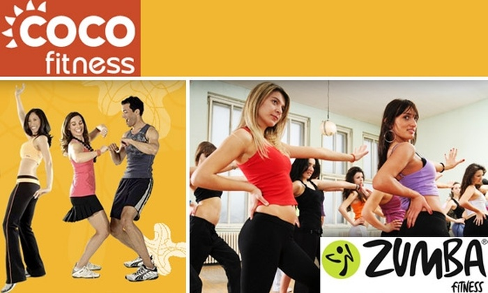 CocoFitness - Washington DC: Two Latin-Inspired Zumba Dance Classes at CocoFitness