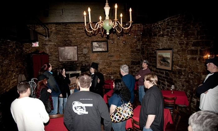 Real Ghost Tours - Marcy-Holmes: $12 for One Ticket to Real Ghost Tours ($25 Value)