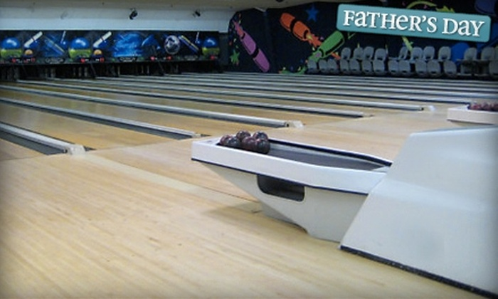 Cape Ann Lanes - Gloucester: $35 for Bowling for Up to Four People Plus a Pizza and Soda Pitcher at Cape Ann Lanes in Gloucester ($80 Value)