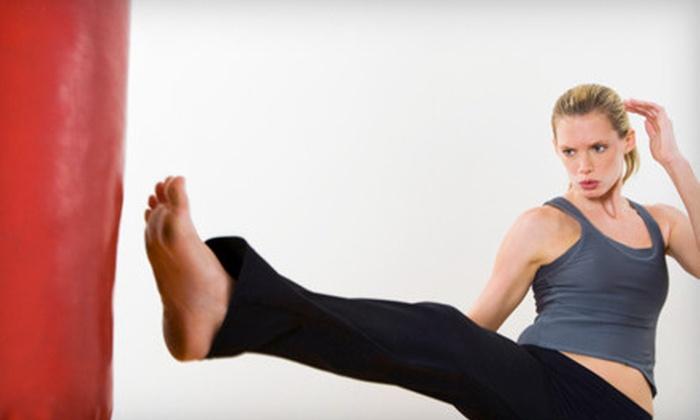 Equivita - Grandview Heights: 6 or 24 Kick Ass Cardio Classes at Equivita in Grandview (Up to 74% Off)