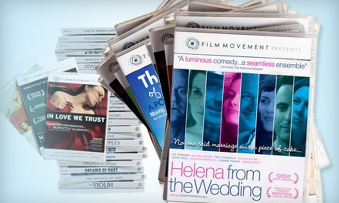 Film Movement: $40 for a Six-Month Subscription to the DVD of the Month Club from Film Movement ($86.98 Value)