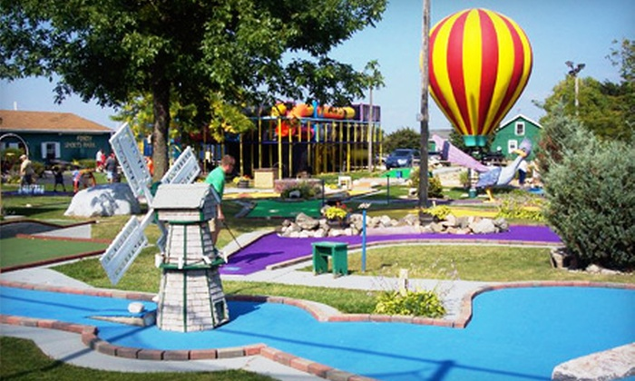 Fondy Sports Park - Fond du Lac: $10 for Mini Golf Outing for Four People at Fondy Sports Park in Fond du Lac ($20 Value)