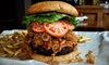 Black Bear Saloon - Downtown: $25 for a Pub Meal with Appetizer, Entrees, and Beers for Two at Black Bear Saloon in New Haven (Up to $55 Value)