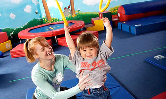My Gym  - Frisco: 4, 8, or 12 Kids' Fitness Classes with Open-Play Sessions at My Gym (Up to 74% Off)
