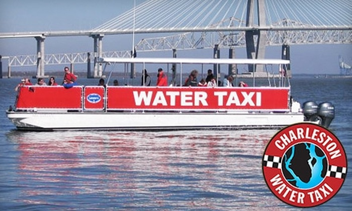 Charleston Water Taxi - Charleston: $4 for a Harbor Tour from Charleston Water Taxi ($8 Value)