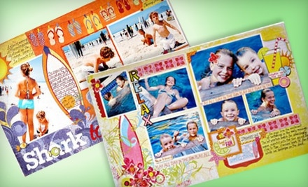 $30 Groupon to All Scrapbook Steals - All Scrapbook Steals in