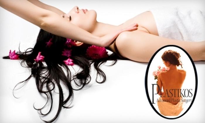 Plastikos MedSpa - Chamblee-Doraville: $35 for One-Hour Swedish Massage ($75 Value) or Two Detox Foot Baths ($70 Value) at Plastikos MedSpa