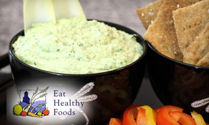 Eat Healthy Foods - Cathedral: $10 for $20 Worth of Organic Deli Food at Eat Healthy Foods