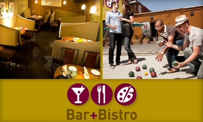 Bar+Bistro @ The Arts Factory - Las Vegas: $15 for $30 Toward Cuisine and Libations at Bar+Bistro @ The Arts Factory