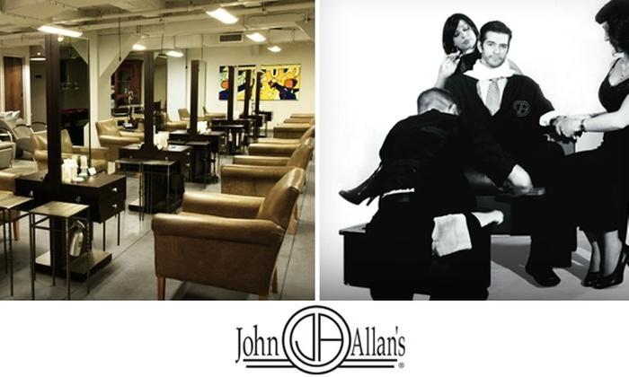 John Allan's - Financial District: $34 for The Full Service at John Allan's Men's Club