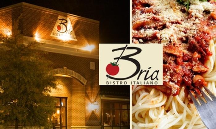 Bria Bistro - Nashville-Davidson metropolitan government (balance): $12 for $25 Worth of Upscale Italian Dining at Bria Bistro