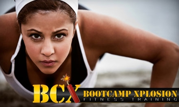 Bootcamp Xplosion - Shenandoah: $24 for One Month of Unlimited Boot-Camp Fitness Classes at Bootcamp Xplosion ($200 Value)