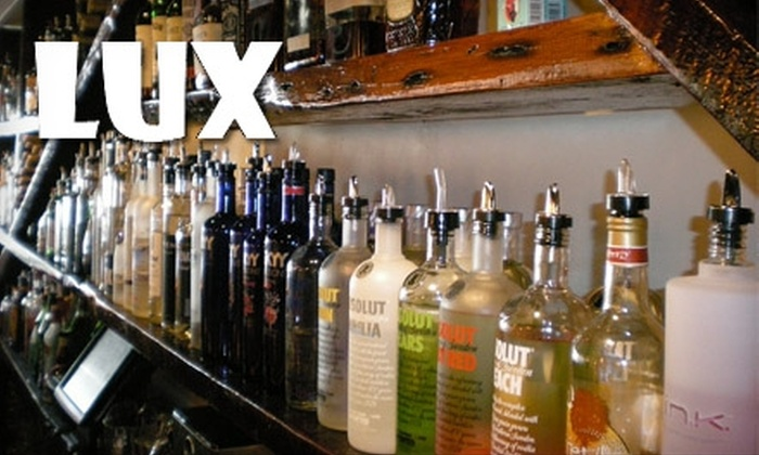 Lux - Gainesville: $10 for $20 Worth of Cocktails at Lux