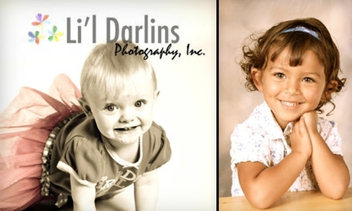 Li'l Darlins Photography - Pomona: $49 for an In-Studio Photo Shoot and Photo Package with a Variety of Prints from Li'l Darlins Photography ($105 Value)
