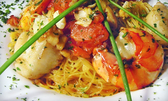 Milano Grille - Green Knoll: $20 for $40 Worth of Italian Dinner Fare at Milano Grille in Bridgewater