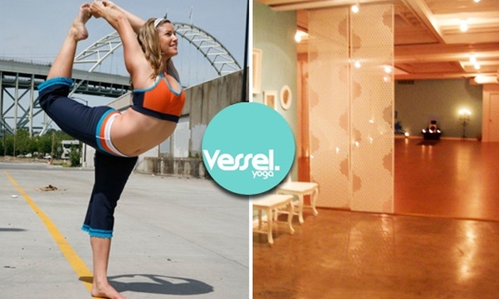 Vessel Yoga - West Loop: 10 Vessel Yoga Classes for $60 (Just $6 a Class)