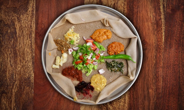 Queen of Sheba  - Southside,Greater Arlington: $10 for $20 Worth of Ethiopian Fare at Queen of Sheba