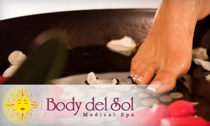 Body del Sol Medical Spa - Woodward Park: $22 for a Margarita Pedicure at Body del Sol Medical Spa