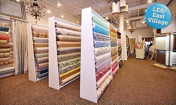Zarin Fabrics - Lower East Side: $25 for $50 Worth of Fabric at Zarin Fabrics
