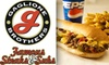 Gaglione Brothers: Famous Steaks & Subs - Point Loma Heights: $10 for $25 Worth of Steaks & Subs from Gaglione Brothers