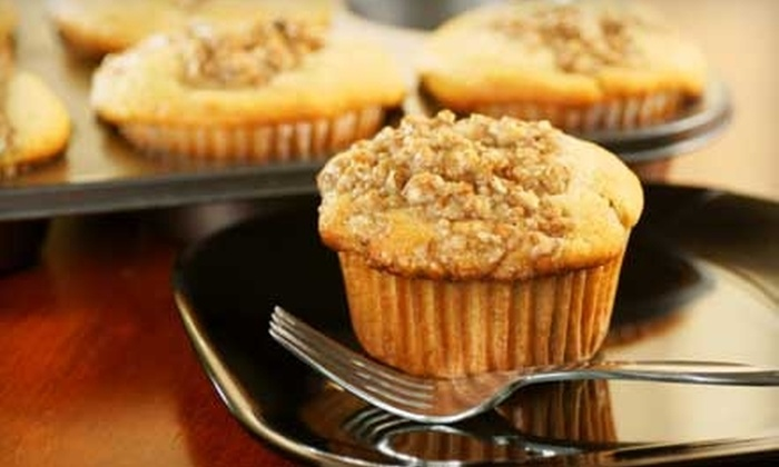 My Favorite Muffin - Multiple Locations: $11 for Twelve Gourmet Muffins at My Favorite Muffin