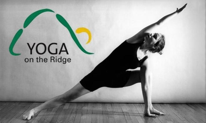 Yoga on the Ridge - Parkland: $25 for Four Yoga Classes at Yoga on the Ridge