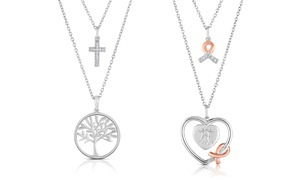 City Of Hope Diamond Accent Necklaces