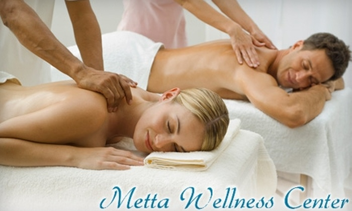 Metta Wellness Center - South Central Westminster: Massage or Wellness Services at Metta Wellness Center in Westminster. Two Options Available.