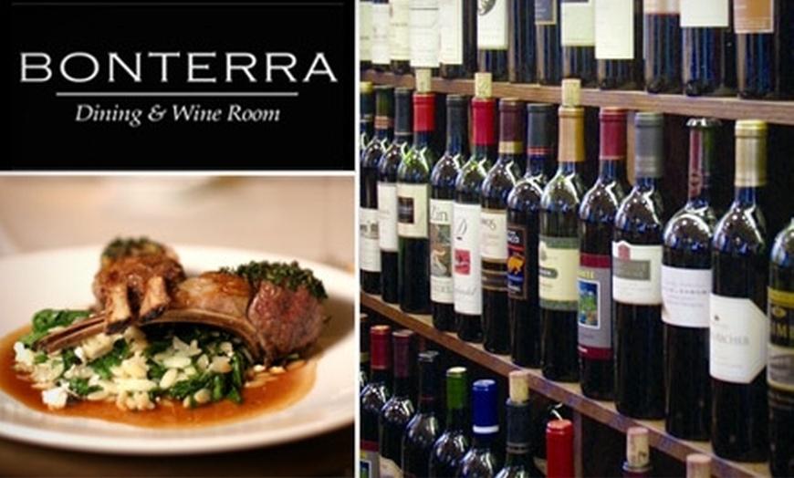 58 Off At Bonterra Dining Wine Room Bonterra Groupon