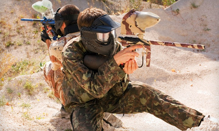 True Paintball Adventure Park - Boise: Paintball Outings for One, Four, or Eight at True Paintball Adventure Park (52% Off)