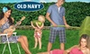 Old Navy **NAT** - Chicago: $10 for $20 Worth of Graphic Tees, Dresses, and Summer Apparel at Old Navy