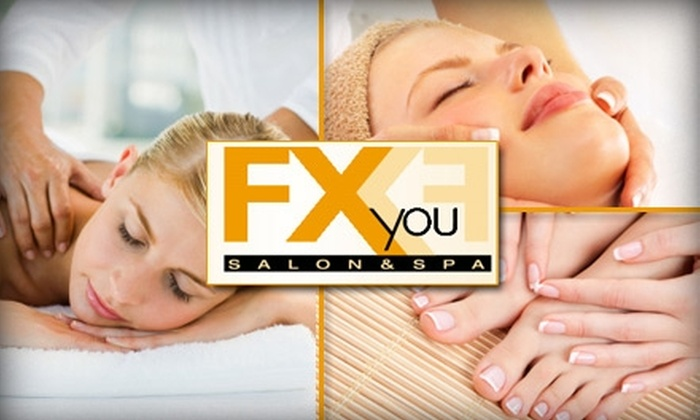 FX You Salon and Spa - Las Vegas: $25 for $50 Worth of Services and Treatments at FX You Salon and Spa