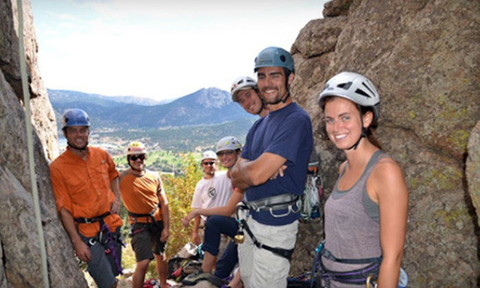 Rocky Top Guides - Lookout Mountain: Half- or Full-Day Guided Outdoor Rock-Climbing Trip from Rocky Top Guides (70% Off)