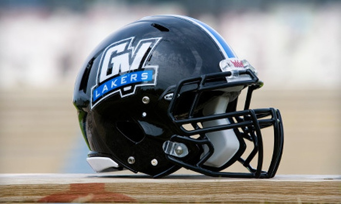 Grand Valley State University Lakers - Allendale: $25 for Football Outing for Two to See Grand Valley  State Play Ferris State in Allendale on October 6 ($50 Value)