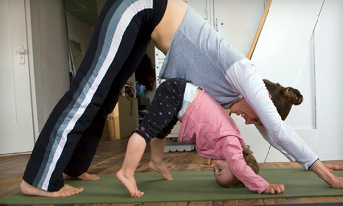 Mommy And Me Time Fitness - Multiple Locations: Four Classes or One Month of Classes at Mommy And Me Time Fitness at Multiple Locations (Up to 69% Off)