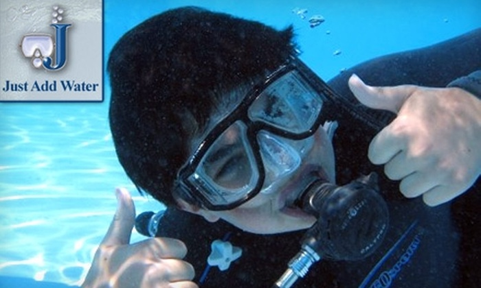 Just Add Water - Willoughby: $12 for One Discover Scuba Class at Just Add Water