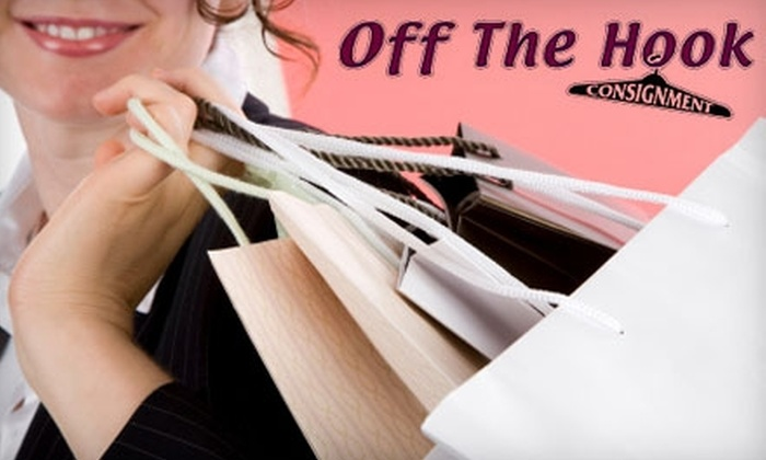 Off The Hook Consignment - Tulsa: $12 for $25 Worth of Resale Apparel and Accessories at Off The Hook Consignment