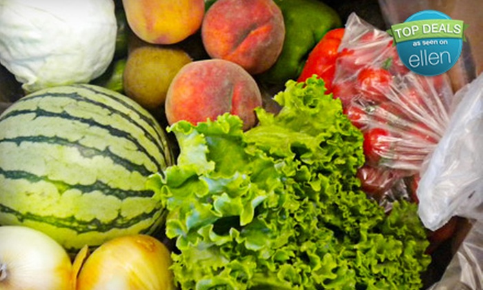 Brown Box Organics: $23 for $46 Worth of Certified-Organic-Produce Delivery from Brown Box Organics