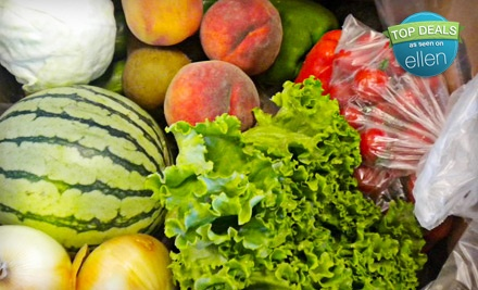 $46 Worth of Certified-Organic-Produce Delivery from Brown Box Organics - Brown Box Organics in