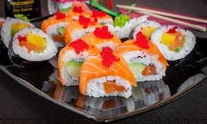 Ryokan Sushi: Zestawy sushi: 32 kawałki za 59,99 zł i więcej opcji w Ryokan Sushi w Gliwicach (do -43%)