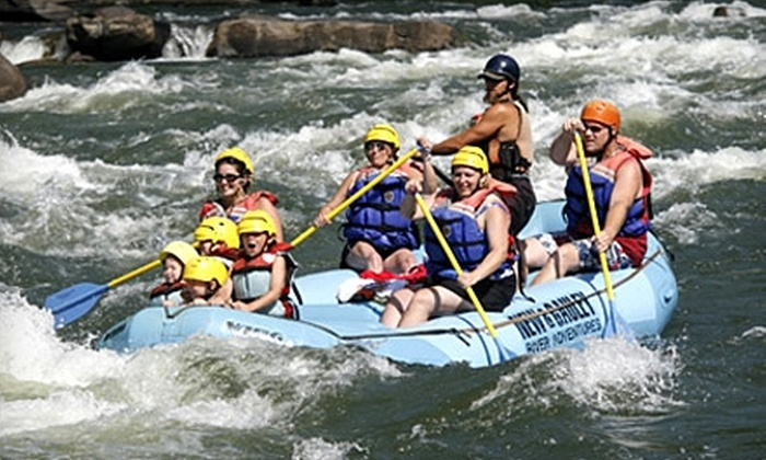 New & Gauley River Adventures - New Haven: Whitewater-Rafting Packages from New & Gauley River Adventures in Lansing, West Virginia. Two Options Available