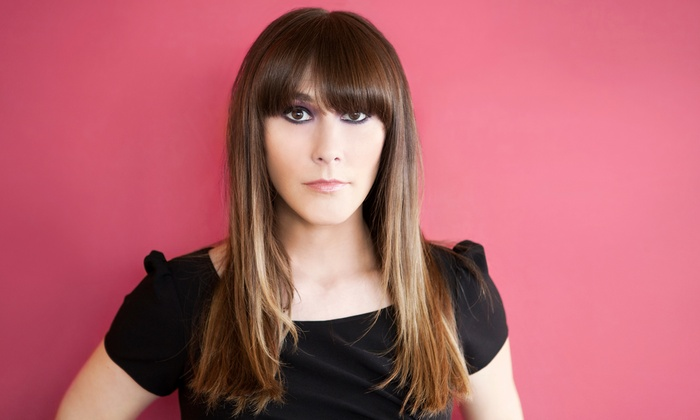 New Look Salon - Athens: Haircut and Blow-Dry with Optional Highlights or Men's Haircut at New Look Salon (50% Off)